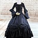 halpa Lolita-mekot-Gothic Lolita Lolita Naisten Mekot Cosplay Pitkähihainen Pitkä Pituus Halloween-asut