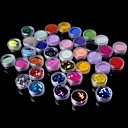 cheap Men's Bracelets-36 pcs Glitter & Poudre / Acrylic Powder / Decoration Kits Abstract / Classic Daily