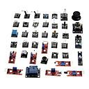 billige Displayer-kt0012 37-i-1 sensormodul kit for Arduino (fungerer med offisielle Arduino styrene)