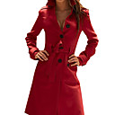 cheap Lolita Wigs-Women's Chic & Modern Coat-Solid Colored,Modern Style