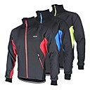 cheap Cycling Jersey & Shorts / Pants Sets-Arsuxeo Men's Cycling Jacket Bike Jacket / Winter Fleece Jacket / Top Thermal / Warm, Windproof, Anatomic Design Patchwork Polyester,