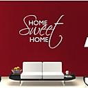 preiswerte Wand-Sticker-Dekorative Wand Sticker - Worte & Zitate Wandaufkleber Abstrakt Mode Worte & Zitate Fantasie Wohnzimmer Esszimmer