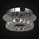 cheap Night Lights-MAISHANG® Flush Mount Uplight Chrome Crystal Crystal, LED 110-120V / 220-240V LED Light Source Included / 5-10㎡ / LED Integrated