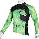 preiswerte Armbänder-ILPALADINO Herrn Langarm Fahrradtrikot Tier Fahhrad Rasche Trocknung, UV-resistant, Atmungsaktiv