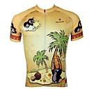 abordables Maillots Ciclismo-ILPALADINO Hombre Manga Corta Maillot de Ciclismo Animal / Caricatura Bicicleta Camiseta / Maillot, Secado rápido, Resistente a los UV, Transpirable