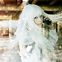 billige Video Spil Cosplay Parykker-Jormungand Koko Hekmatyar Dame 32 inch Varmeresistent Fiber Sølv Anime Cosplay Parykker