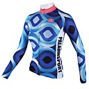 cheap Cycling Jersey & Shorts / Pants Sets-ILPALADINO Women's Long Sleeve Cycling Jersey Bike Jersey, Quick Dry, Breathable