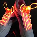 halpa Koristevalot-led-urheilukengän nauhat hehku-kengän jouset pyöreä flash-kevyt kengännauhat valovoimaiset kengännauhat