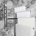 preiswerte Badezimmer Zubehör Set-Handtuchhalter Moderne Messing 1 Stück - Hotelbad 4-Handtuch-Bar