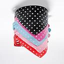 halpa Koiran vaatteet-Kissa Koira Kaulapannat Huivipanta Bandanat PU-nahka Musta Ruusu Punainen Sininen Pinkki