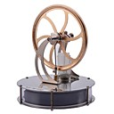 cheap Fusion Hair Extensions-LJKGDQ Stirling Machine Engine Motor Model Science & Exploration Set Fun Aluminium Kid's Boys' Girls' Toy Gift