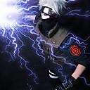 halpa Anime-somisteet-Cosplay-Peruukit Naruto Hatake Kakashi Anime Cosplay-Peruukit 35 CM Heat Resistant Fiber Miesten