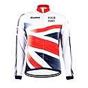 povoljno Wii oprema-Kooplus Muškarci Žene Uniseks Dugih rukava Biciklistička jakna Bicikl Biciklistička majica Select Color 6 # Select Color 7 # Select Color