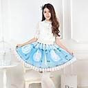 baratos Vestidos Lolita-Princesa Doce Mulheres Saia Cosplay Comprimento Médio Fantasias