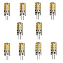 olcso LED Szpotlámpák-YWXLIGHT® 10pcs 2 W 200 lm G4 LED betűzős izzók 24 led SMD 2835 Meleg fehér DC 12V