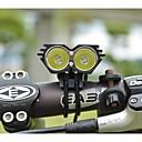 olcso Kerékpáros mez-LS070 Fejlámpák / Kerékpár világítás 5000/2500 lm töltővel Vízálló / Ütésálló / Újratölthető Kempingezés / Túrázás / Barlangászat / Mindennapokra / Rendőr / Katonaság Fekete