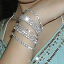 preiswerte Modische Armbänder-Damen Ketten- & Glieder-Armbänder Armband - Diamantimitate Erklärung, Brautkleidung Armbänder Silber / Regenbogen Für Hochzeit Party Jahrestag