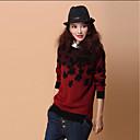 cheap Rhinestone & Decorations-Women's Cute Pullover - Patchwork
