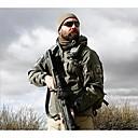cheap Hunting Bags-Hunting Jacket Men's Keep Warm Waterproof Solid Winter Jacket Softshell Jacket Hoodie Jacket Top for Camping / Hiking