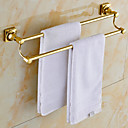 cheap RC Parts & Accessories-Towel Bar Contemporary Brass 1 pc - Hotel bath 2-tower bar / Double