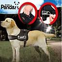 halpa Koiran vaatteet-Koira Valjaat Säädettävä / Sisäänvedettävä Padded Nylon Musta Punainen Naamiointiväri