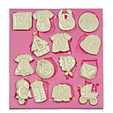 cheap Holiday Deals-Bakeware tools Plastic For Cake Cake Molds 1pc