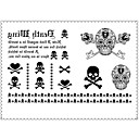 cheap Tattoo Stickers-1 pcs Temporary Tattoos Special Design / Disposable Body / Arm / Leg Water-Transfer Sticker Tattoo Stickers
