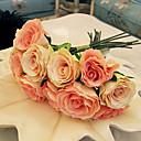 olcso Mesterséges növények-Ág Selyem Rózsák Asztali virág Művirágok