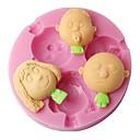 preiswerte Backformen-Backwerkzeuge Kunststoff Kuchen Kuchenformen 1pc