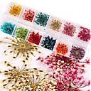 povoljno Umjetno drago kamenje&Dekoracije-24 pcs Nail Art Kit Nakit za nokte Za prst nail art Manikura Pedikura Cvijet / Vjenčanje
