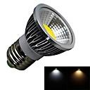 billige LED-lyspærer-1pc 3 W 280 lm E26 / E27 LED-spotpærer 1 LED perler COB Mulighet for demping Varm hvit / Kjølig hvit 100-240 V