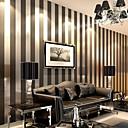 abordables Murales-Rayas Decoración hogareña Moderno Revestimiento de pared, Papel no tejido Material adhesiva requerida papel pintado, Revestimiento de