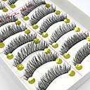 hesapli Takma Kirpikler-Göz Kirpik 10 Makijaż imprezowy Klasik Yüksek kalite Günlük