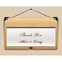preiswerte Hochzeitseinladungen-Hochzeits-Einladungen Glatte Karte Dankeschön-Karten Personalisiert