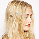 cheap Dance Accessories-Women's Bohemian / Fashion / Sweet Alloy Hair Clip - Solid Colored