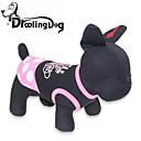 preiswerte Hundespielsachen-Katze Hund Kleider Hundekleidung Punkt Schwarz/Rosa Baumwolle Kostüm Für Haustiere