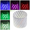 billige Lampebaser og stik-SENCART 5 m Fleksible LED-lysstriber 150 lysdioder Varm hvid / RGB / Hvid Fjernbetjening / Chippable / Dæmpbar 12V / 5050 SMD / IP68