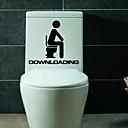 hesapli Soap Dispensers-Duvar Stickerları Karton Butik 1pc Tuvalet aksesuarları