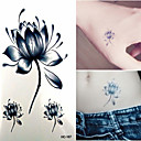 cheap Tattoo Stickers-1 Non Toxic Lower Back Waterproof Flower Series Tattoo Stickers