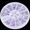 abordables Decoraciones y Diamantes Sintéticos para Manicura-1 Joyería de uñas Abstracto Clásico Encantador Boda Punk Diario Abstracto Clásico Encantador Boda Punk Alta calidad