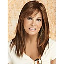 cheap Synthetic Capless Wigs-Synthetic Wig Straight Style With Bangs Capless Wig Synthetic Hair Women's With Bangs Wig Long StrongBeauty