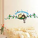 billige Veggklistremerker-Dekorative Mur Klistermærker - Fly vægklistermærker Landskap / Dyr Stue / Soverom / Spisestue / Kan fjernes