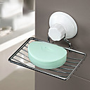 cheap Soap Dishes-Soap Dishes & Holders High Quality Contemporary Stainless Steel + A Grade ABS 1 pc - Hotel bath Wall Mounted