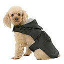 cheap Dog Clothes-Dog Rain Coat Dog Clothes Solid Colored Black Red Blue Nylon Costume For Pets Men's Women's Waterproof
