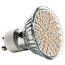 billige LED lyspærer-3 W 250-350 lm GU10 LED-spotlys MR16 60 LED Perler SMD 3528 Varm hvid 220-240 V / CE