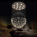 cheap Pendant Lights-LED Pendant Lights Modern Crystal Chandeliers Clear K9 Crystal Globe Ceiling Lamps Fixtures