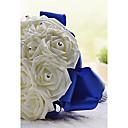 """cheap Wedding Flowers-Wedding Flowers Bouquets Wedding Party / Evening Crystal Rhinestone Satin Foam 11.02""""(Approx.28cm)"""