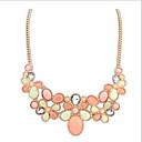 preiswerte Modische Halsketten-Damen Halsketten - Europäisch Grün, Rosa, Regenbogen Modische Halsketten Schmuck Für