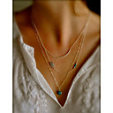 cheap Necklaces-Women's Layered Necklace - Evil Eye Fashion Screen Color Necklace For