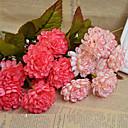 baratos Flor artificiali-Flores artificiais 1 Ramo buquês de Noiva Crisântemo Flor de Mesa